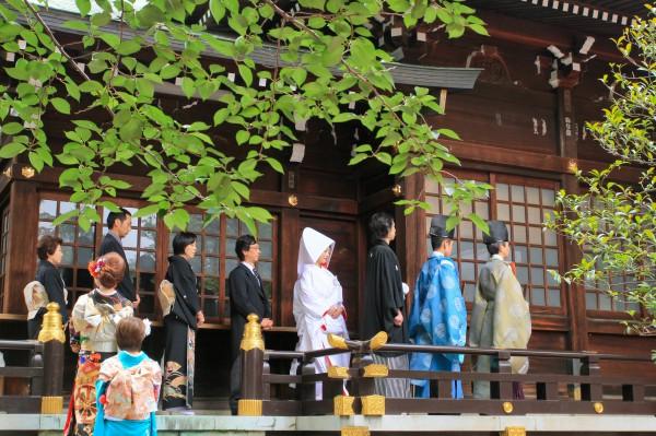十二社熊野神社 神前式プラン