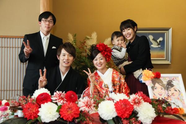 神社挙式+色打掛会食プラン <雅>(和食懐石 みのきち)
