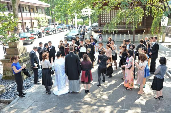 神社挙式+ガーデンレストランプラン(ローズガーデン新宿)のプランイメージ画像7
