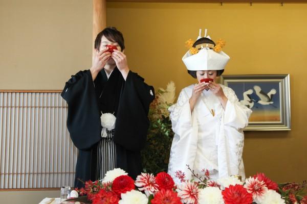 神社挙式+色打掛会食プラン <雅>(和食懐石 みのきち)のプランイメージ画像2