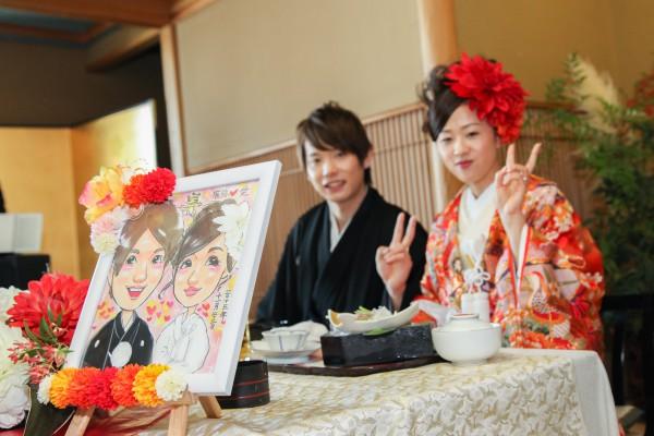神社挙式+色打掛会食プラン <雅>(和食懐石 みのきち)のプランイメージ画像6