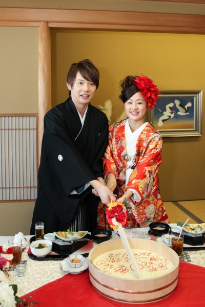 神社挙式+色打掛会食プラン <雅>(和食懐石 みのきち)のプランイメージ画像8