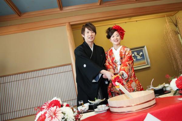 神社挙式+色打掛会食プラン <雅>(和食懐石 みのきち)のプランイメージ画像9